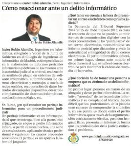 Entrevista Javier Rubio Alamillo