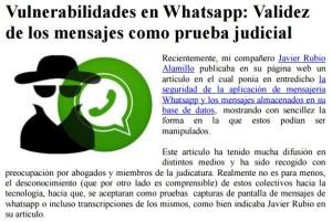 Vulnerabilidades Whatsapp